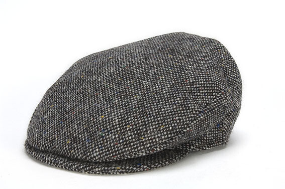 Irish Vintage Cap, Salt and Pepper- Choose Your Color and Size