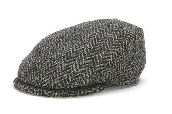 Irish Vintage Cap, Herringbone- Choose Your Color and Size