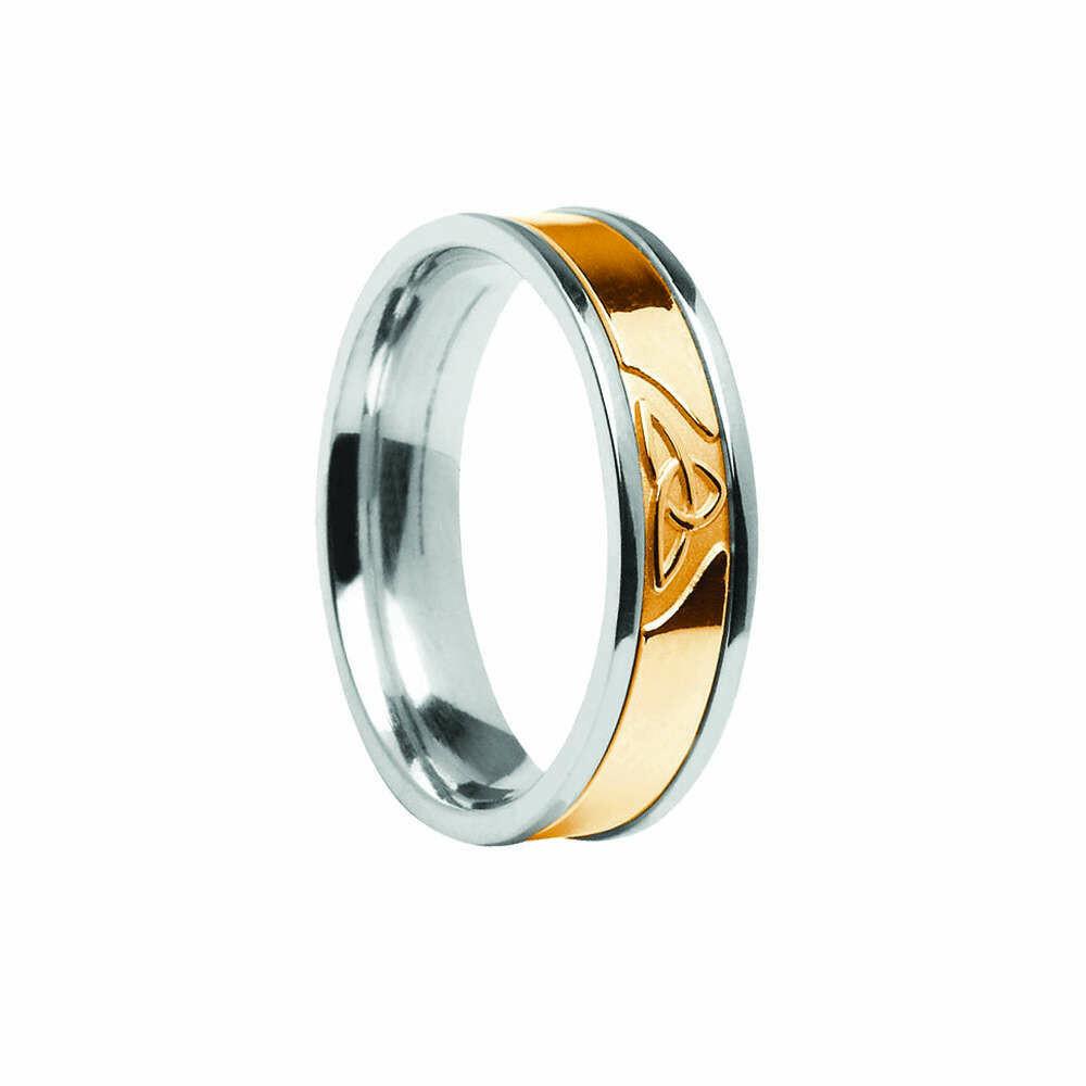 Ladies 10kt Gold Signature Trinity Knot Wedding Band