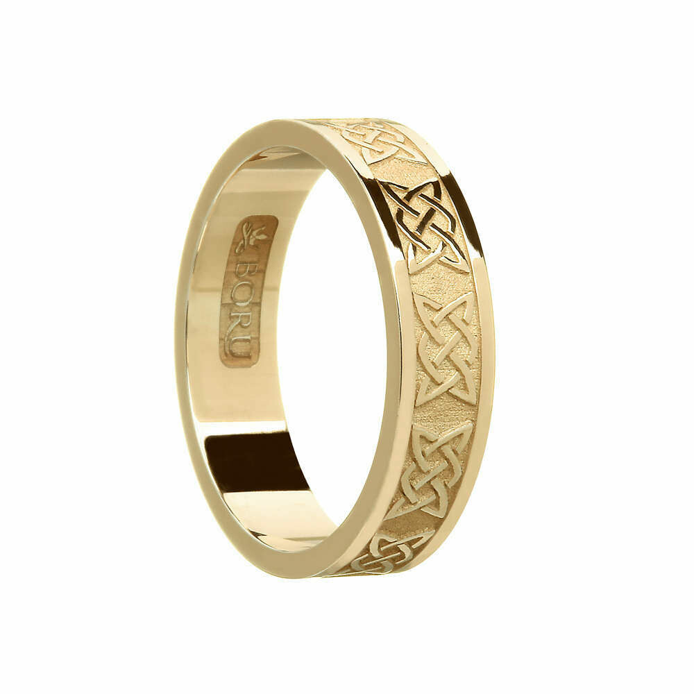 Ladies 10kt Gold Lover's Knot Wedding Band