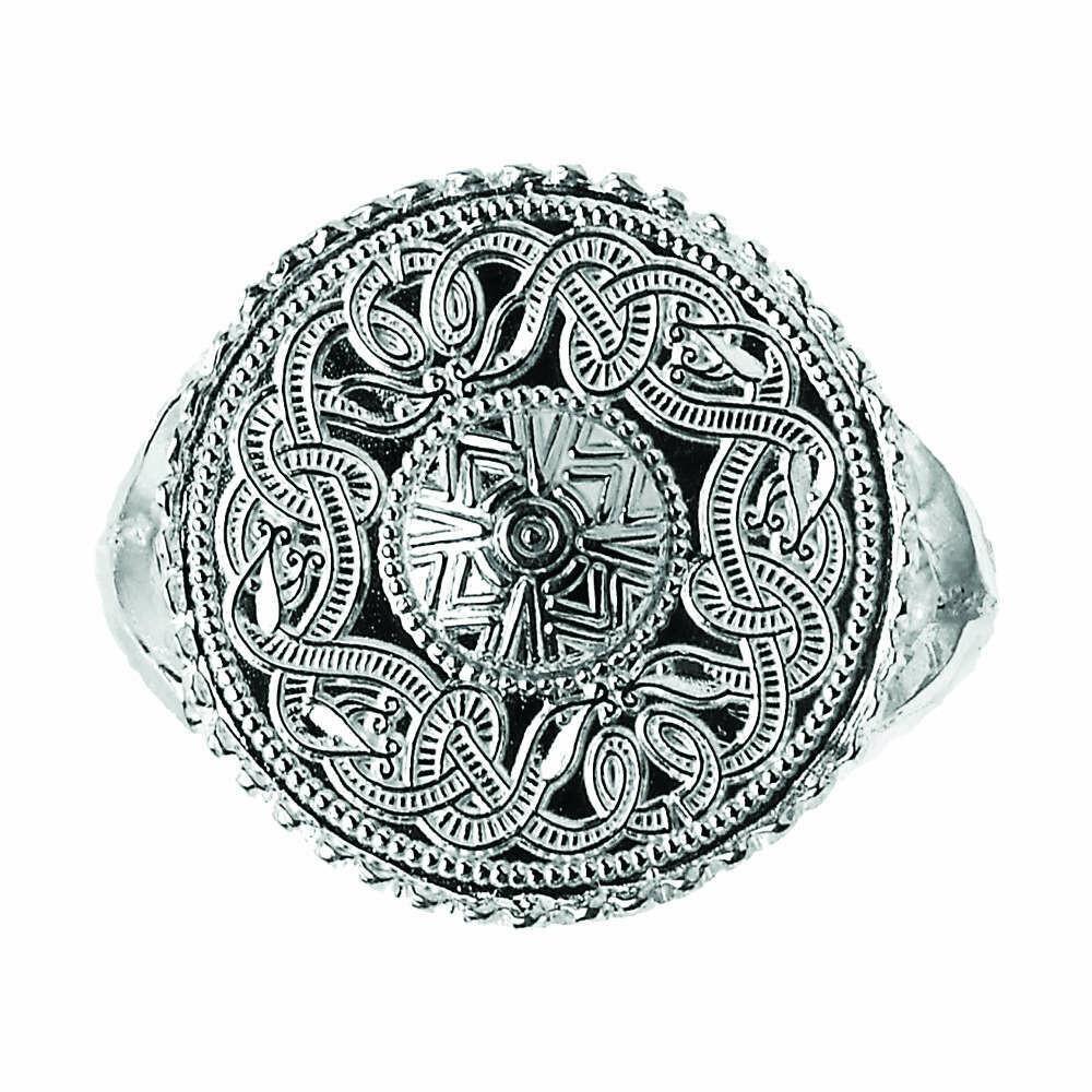 Original Celtic Warrior® Sterling Silver Signet Ring