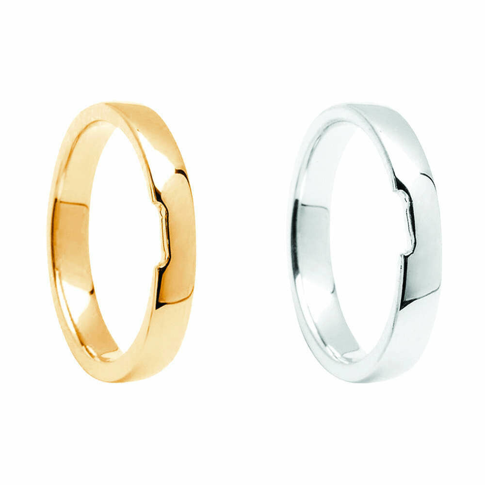 Matching Plain Wedding Band to fit Engagement Rings BO|ENG01 thru BO|ENG08