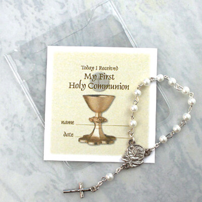 One Decade Rosary Communion Favor