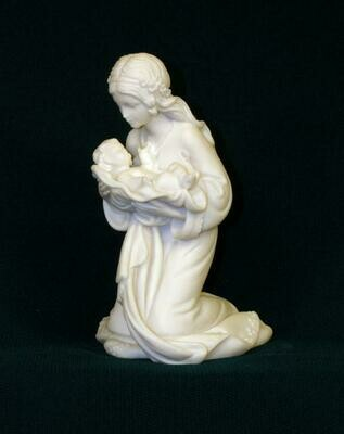 "Kneeling 4"" Madonna and Child"
