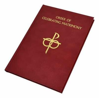 The Order of Celebrating Matrimony- Leather