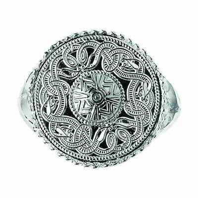 Original Celtic Warrior® Sterling Silver Signet Ring