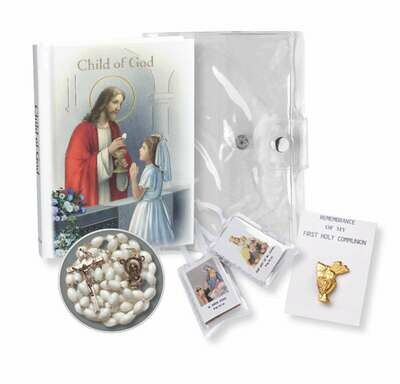 "Child Of God ""Communion Memories"" Edition Girl's Gift Set"
