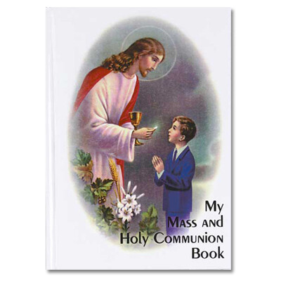 My Mass and Holy Communion Book Traditional Edition- Boy