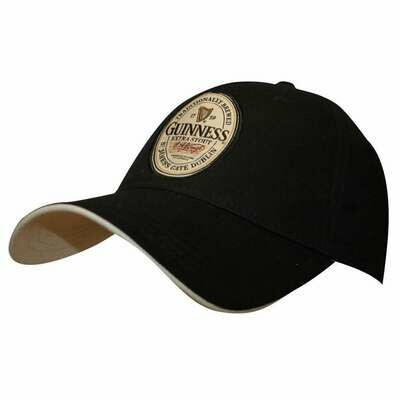 Guinness® Black English Label Cap