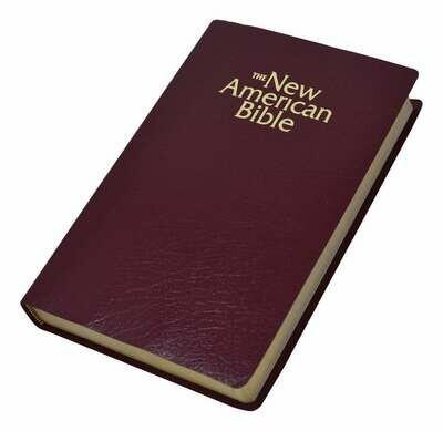 NABRE Gift & Award Bible- Burgundy