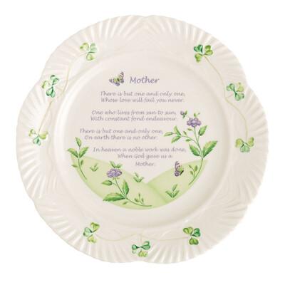 Belleek Mother's Blessing Plate
