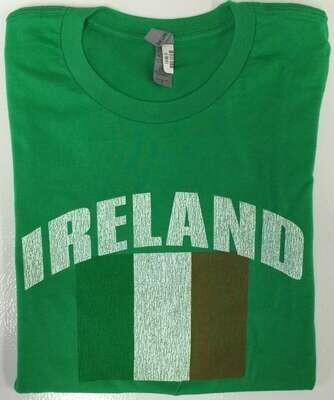 Ireland Distressed Flag Woman's T-Shirt