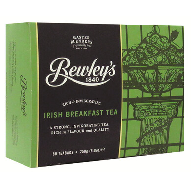 Bewley's Irish Breakfast Tea- 80 Tea Bags