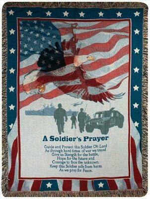 A Soldier's Prayer Blanket