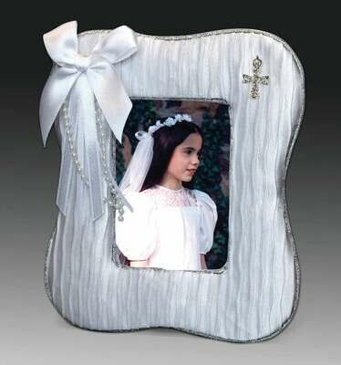 First Holy Communion Satin Photo Frame