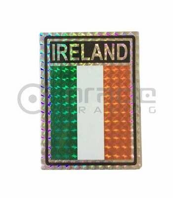 Ireland Prismatic Decal Sticker