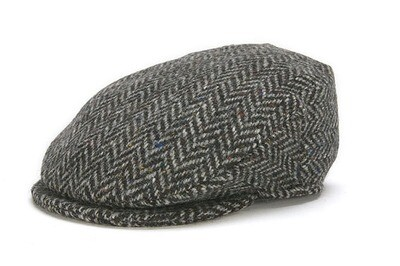 Irish Vintage Cap, Herringbone- Choose Your Color and Size