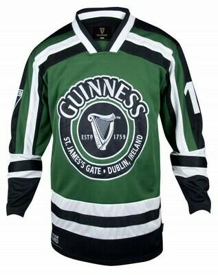 Guinness® Green and White Harp Hockey Shirt
