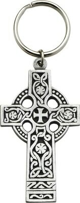 Celtic Cross Large Key Chain
