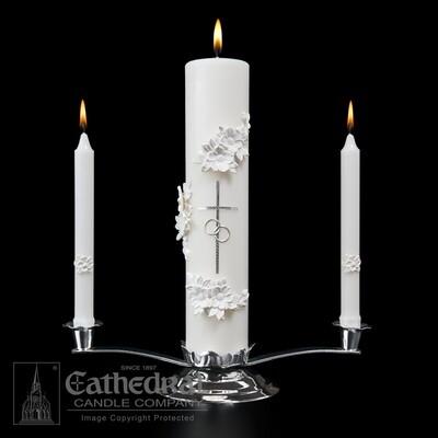 Holy Matrimony Ensemble- Silver/White