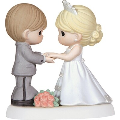 Precious Moments™ From This Day Forward, Bisque Porcelain Figurine