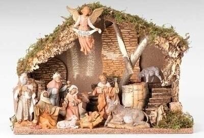 """5"""" Fontanini 11-Piece Nativity Set"""