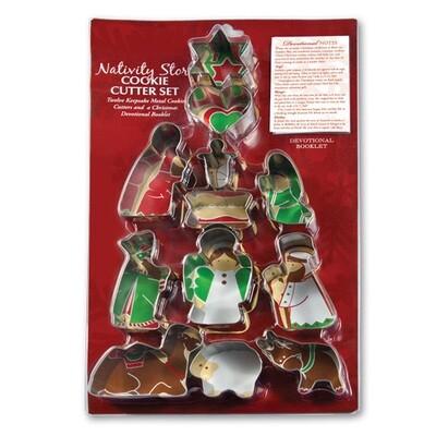 Nativity Story Cookie Cutter Set