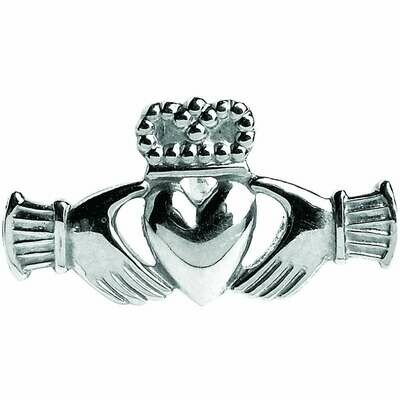 Sterling Silver Claddagh Straight Tie Tac