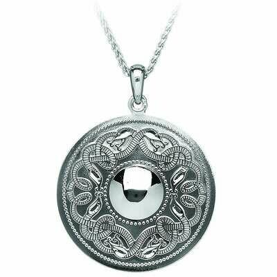 Sterling Silver Original Celtic Warrior® Pendant- Extra Large & 22