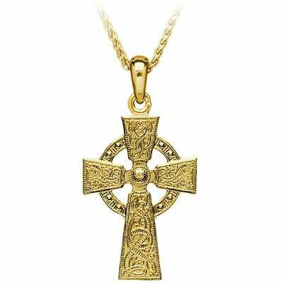 10kt Yellow Gold Original Celtic Warrior® Cross, and 10kt 18