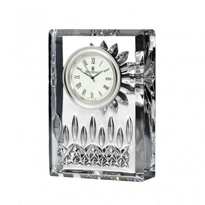 "Waterford® Lismore 4"" Clock"