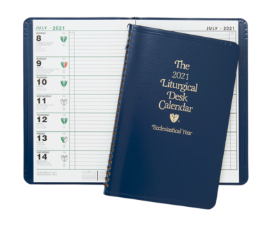 2021 Liturgical Desk Calendar
