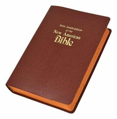 St. Joseph NABRE Gift Edition- Medium Size- Brown