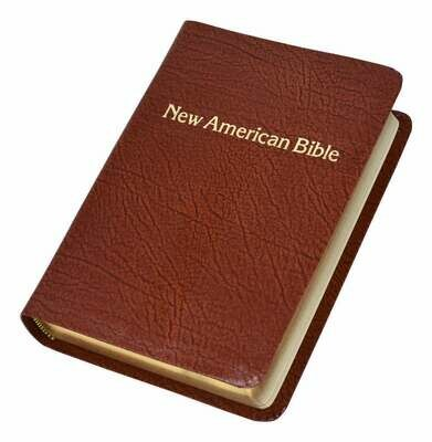 St. Joseph NABRE Personal Size Gift Edition- Brown- Leather