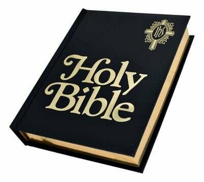NABRE Catholic Family Bible- Black