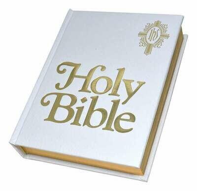 NABRE Catholic Family Bible- White