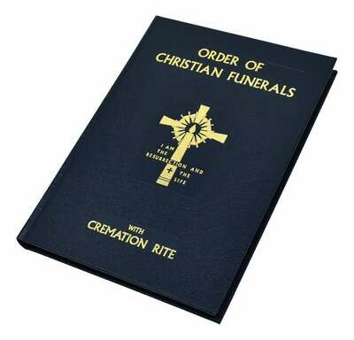 Order Of Christian Funerals With Cremation Rite- Bonded Leather