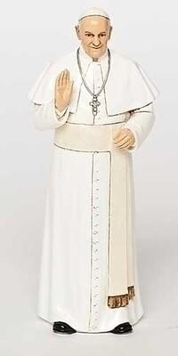 "6.25"" Pope Francis Statute"