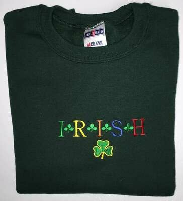 Children's Irish Shamrock Sweatshirt