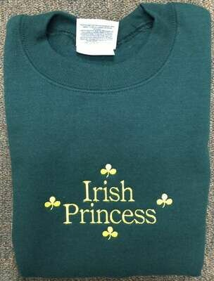 Children's Irish Princess Sweatshirt