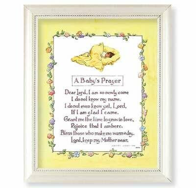 A Baby's Prayer Framed Picture
