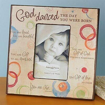 """God Danced"" Picture Frame"