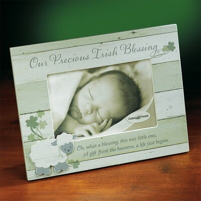 """Our Precious Irish Blessing"" Photo Frame"