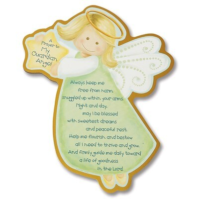 Guardian Angel Children's Plaque