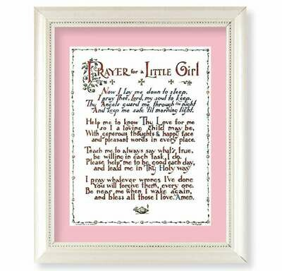 Prayer for a Little Girl Framed Picture