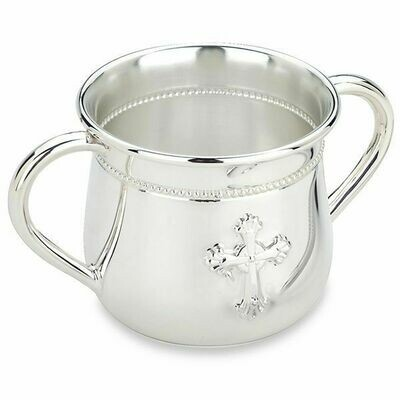 Abbey Silverplate Baby Cup