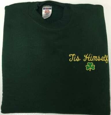 Tis Himself Shamrock Sweatshirt