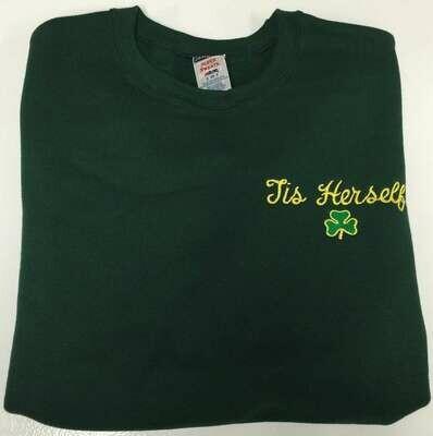 Tis Herself Shamrock Sweatshirt