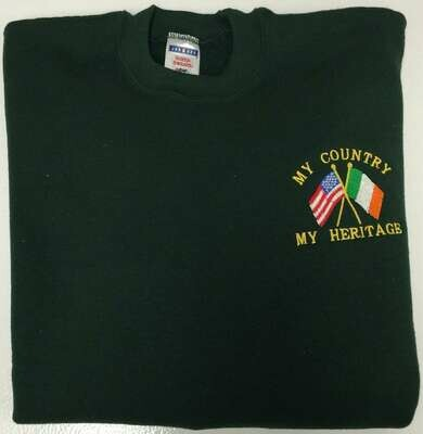 My Country, My Heritage Flags Sweatshirt