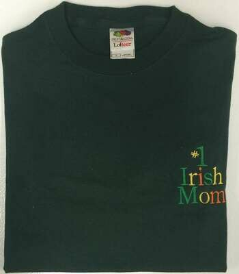 #1 Irish Mom T-Shirt